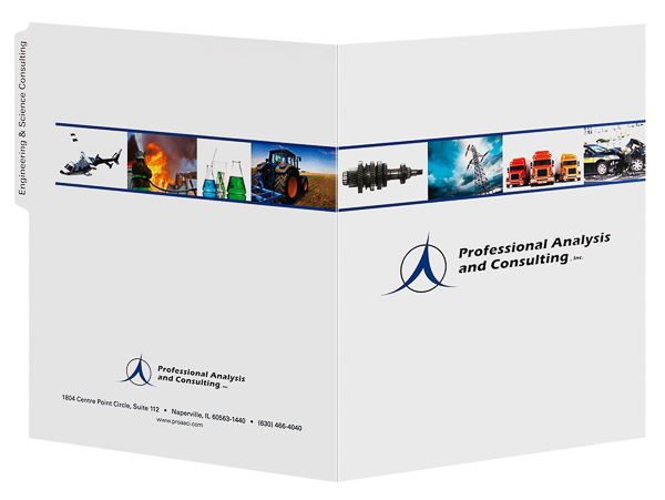 Professional Analysis and Consulting, Inc. (Front and Back Open View)