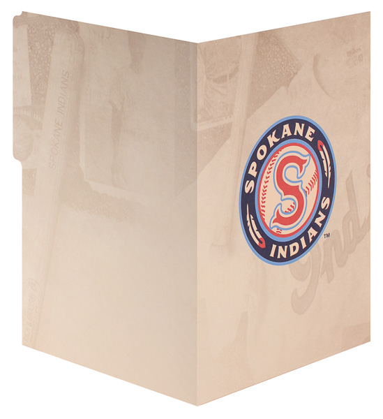 Spokane Indians (Back and Front Open View)