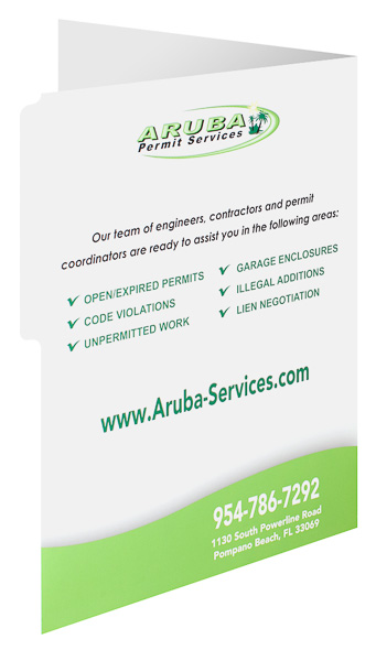 Aruba Permit Services (Back Open View)