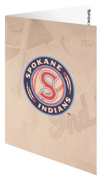 Spokane Indians (Front Open View)