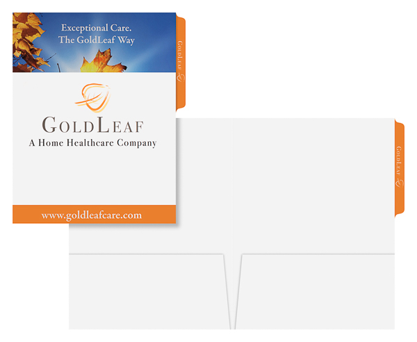 GoldLeaf Home Care (Stack of Two Front and Inside View)