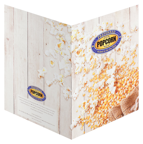 Preferred Popcorn (Back and Front Open View)