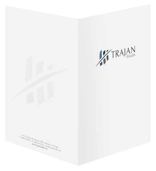 Trajan Wealth, LLC (Back and Front Open View)