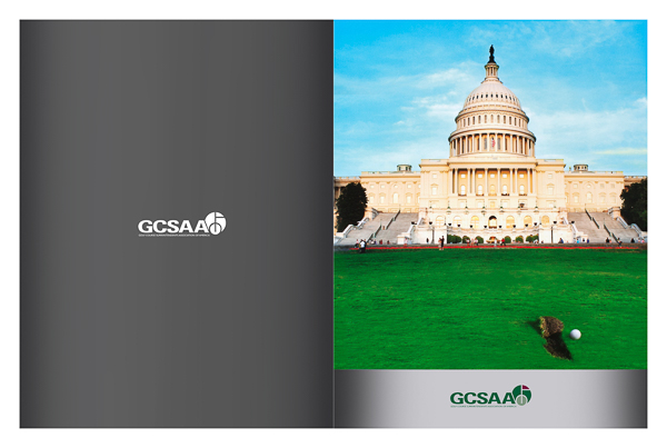 Golf Course Superintendents Association of America (Front and Back Flat View)