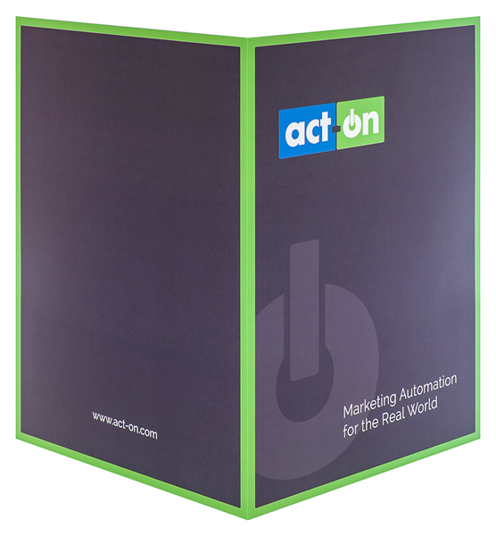 Act-On Software (Back and Front Open View)