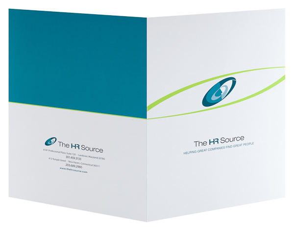 The HR Source (Front and Back Open View)