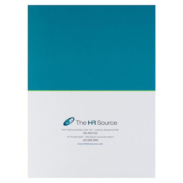 The HR Source (Back Flat View)