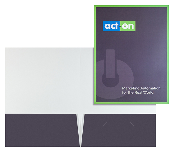 Act-On Software (Stack of Two Front and Inside View)