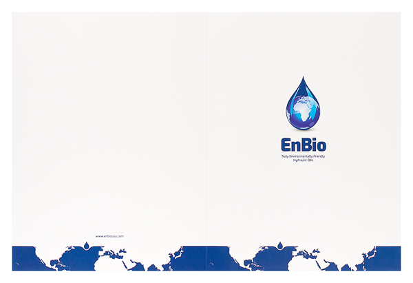 EnBio Industries (Front and Back Flat View)
