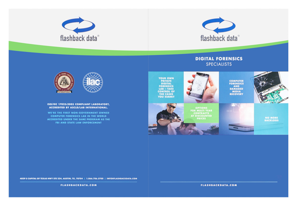 Flashback Data (Front and Back Flat View)