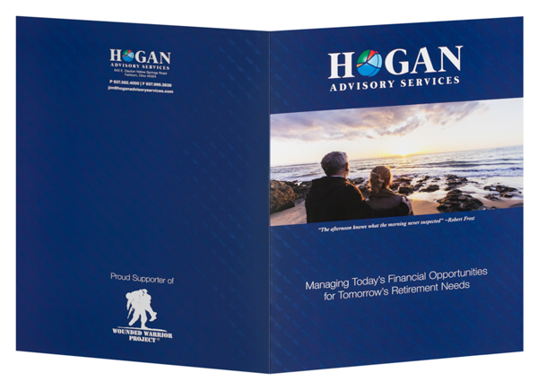 Hogan Advisory Services, LLC (Back and Front Open View)