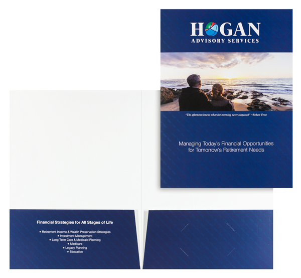 Hogan Advisory Services, LLC (Stack of Two Front and Inside View)
