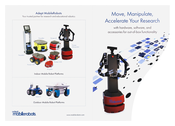 Adept Mobile Robots (Back Flat View)