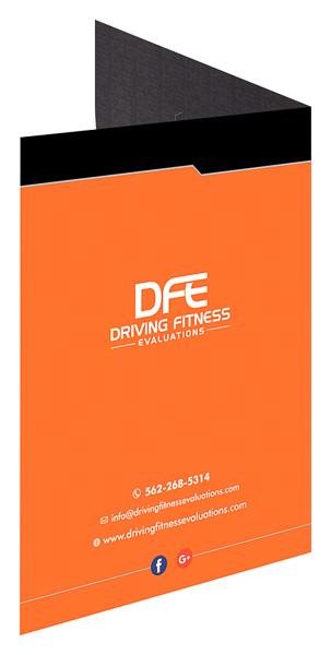Driving Fitness Evaluations (Back Open View)