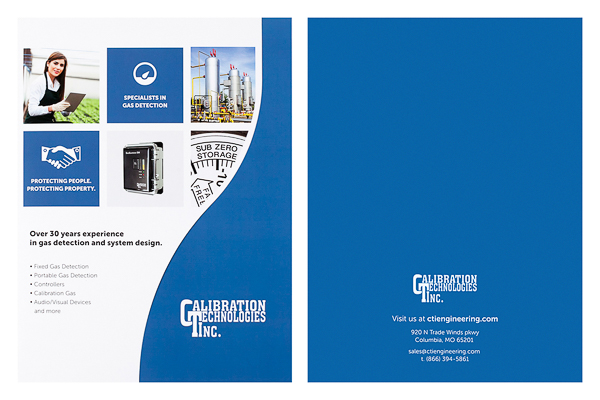 Calibration Technologies, Inc. (Stack of Two Front and Back View)
