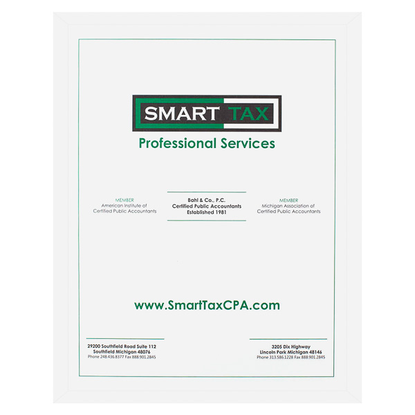 SmartTax Professional Services (Front View)