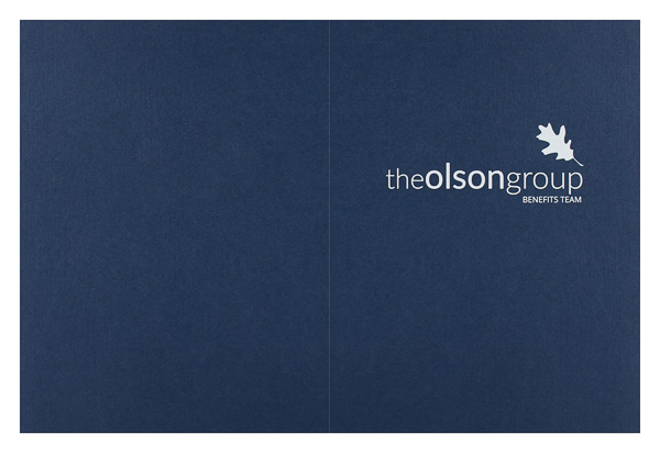 The Olson Group (Front and Back Flat View)