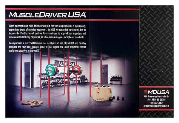 MuscleDriver USA (Inside Flat View)