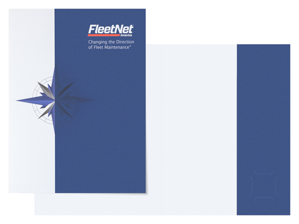 FleetNet America (Stack of Two Front and Inside View)