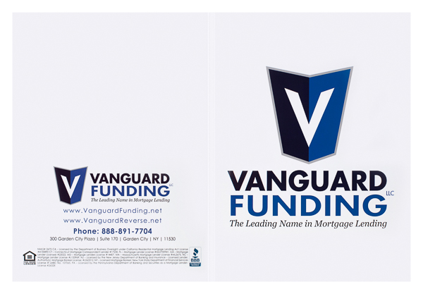 Vanguard Funding, LLC (Front and Back Flat View)