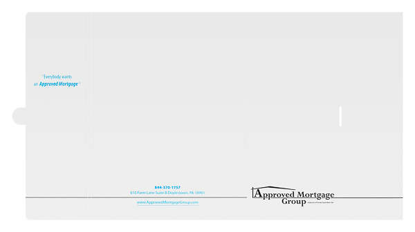 Approved Mortgage Group (Front and Back Flat View)