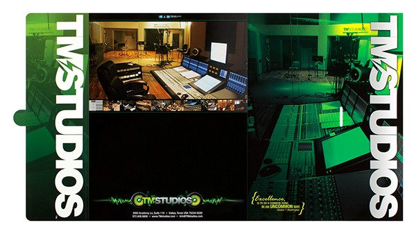 TM Studios (Front and Back Flat View)