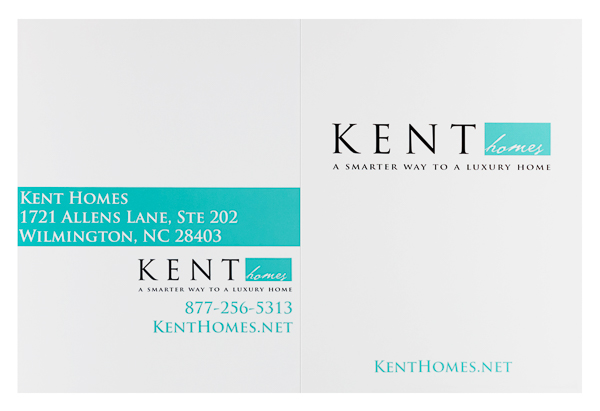 Kent Homes (Front and Back Flat View)