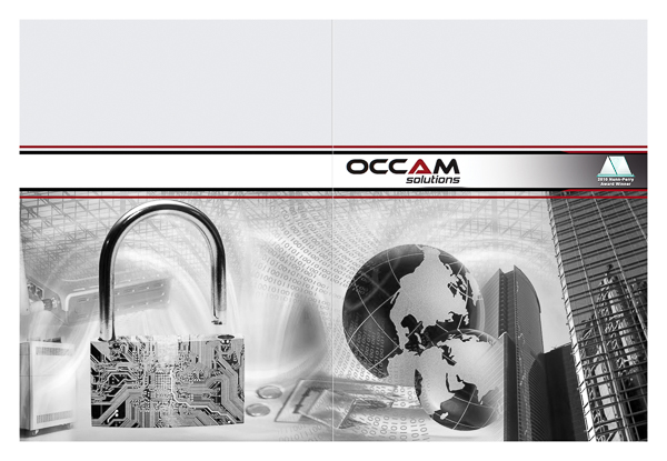 Occam Solutions, Inc. (Front and Back Flat View)
