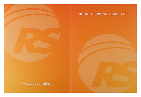 Retail Shipping Associates (Front and Back Flat View)
