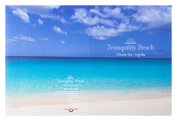 Tranquility Beach Meads Bay Anguilla (Back Flat View)