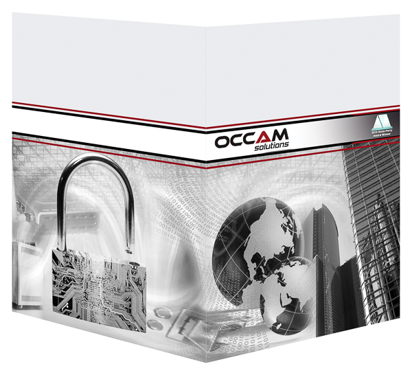 Occam Solutions, Inc. (Front and Back Open View)