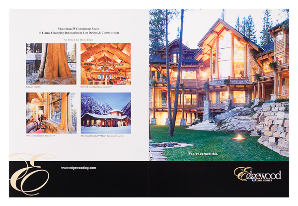 Edgewood Log Homes (Back Flat View)