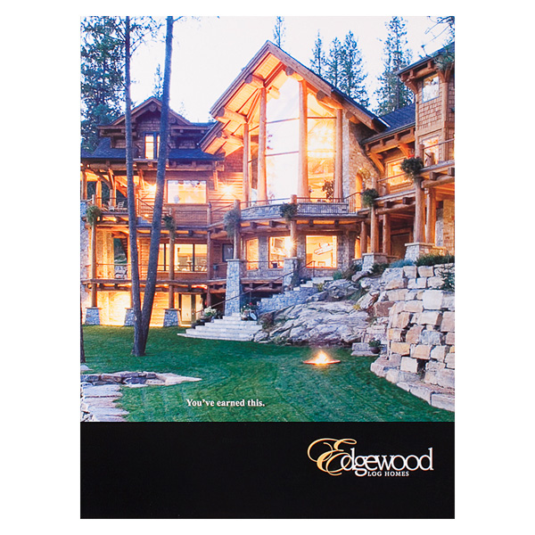 Edgewood Log Homes (Front View)