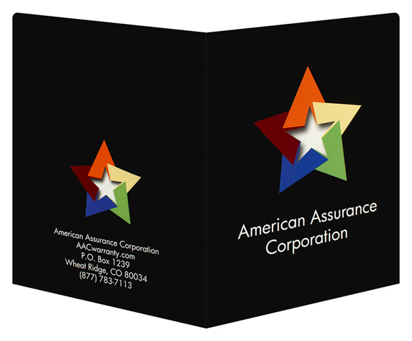 American Assurance Corporation (Back and Front Open View)