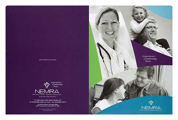Northeast Medical Research Associates (Front and Back Flat View)