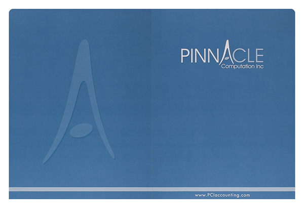Pinnacle Computation, Inc. (Front and Back Flat View)