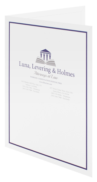 Luna, Levering & Holmes (Front Open View)
