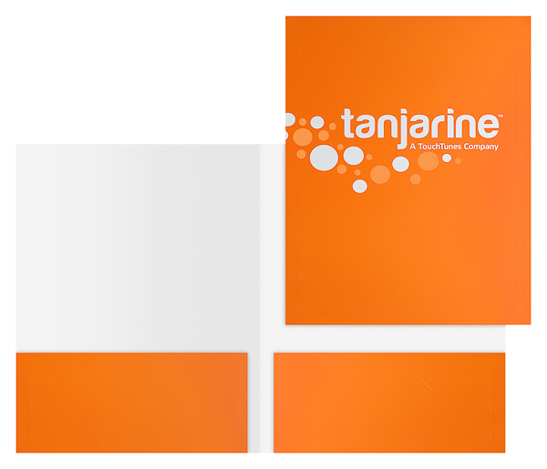 Tanjarine (Stack of Two Front and Inside View)