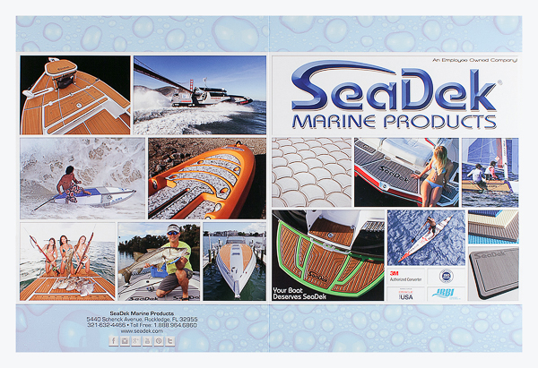 SeaDek Marine Products (Front and Back Flat View)