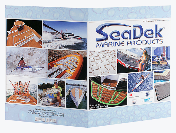 SeaDek Marine Products (Front and Back Open View)