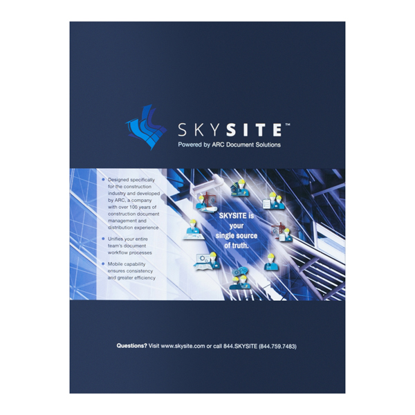 ARC Document Solutions SKYSITE (Back Flat View)
