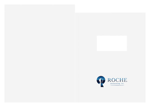 Roche Accounting, Inc. (Back Flat View)