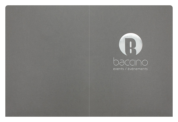 Baccino Events (Back Flat View)