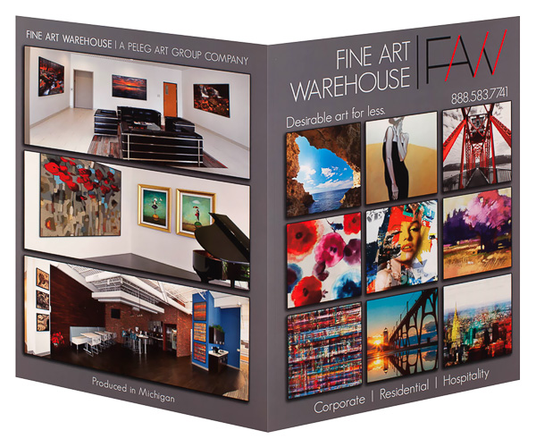 Fine Art Warehouse (Front and Back Open View)