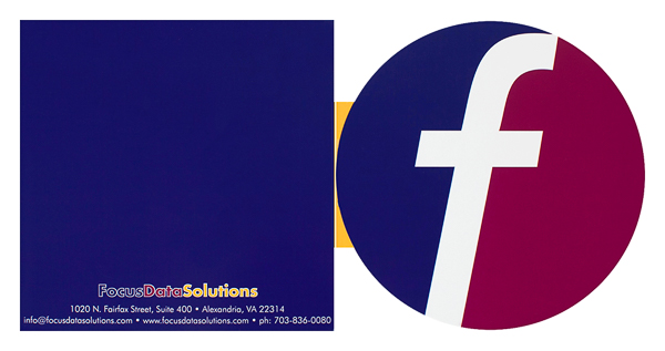 Focus Data Solutions (Front and Back Flat View)