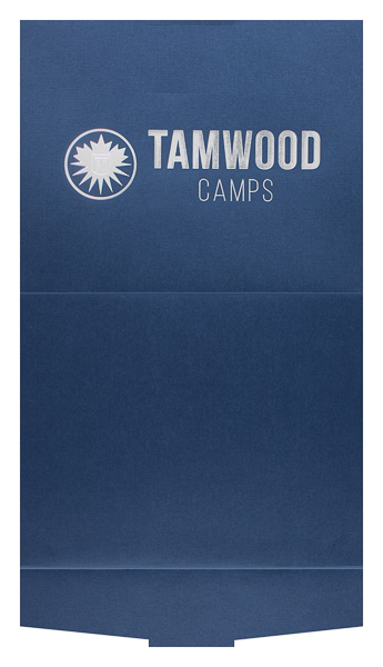 Tamwood Camps (Front and Back Flat View)