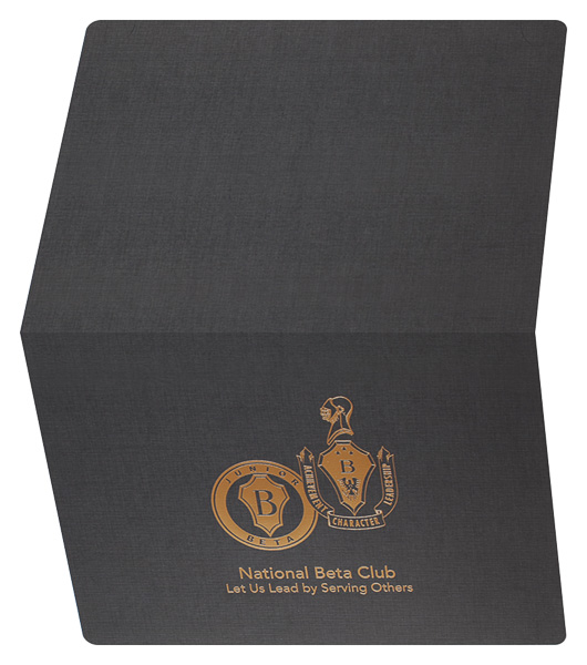 National Beta Club (Back and Front Open View)