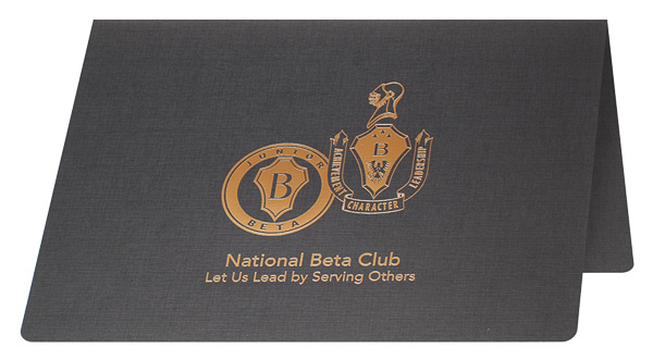 National Beta Club (Front Open View)