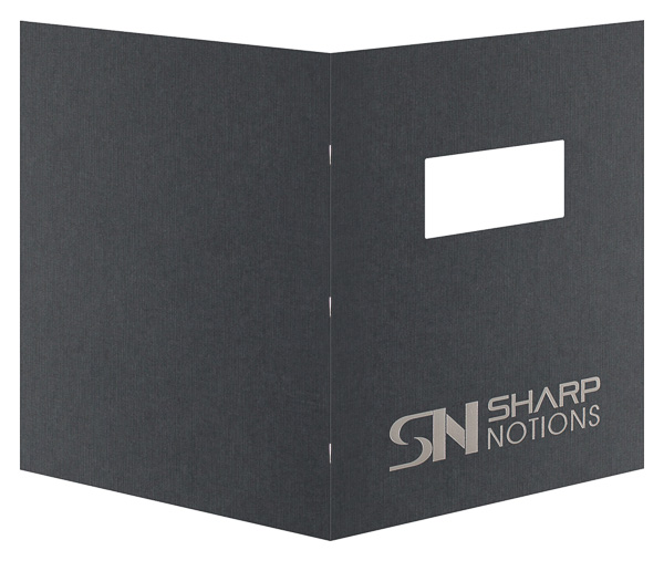 Sharp Notions (Back and Front Open View)