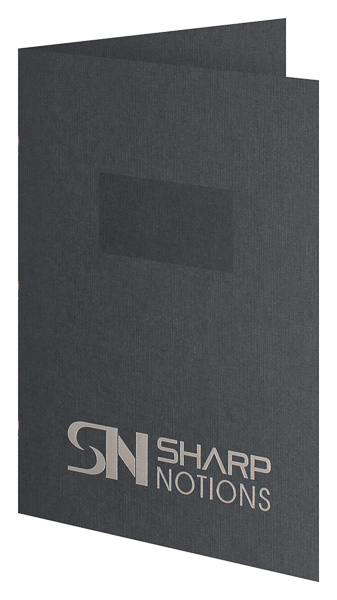 Sharp Notions (Front Open View)